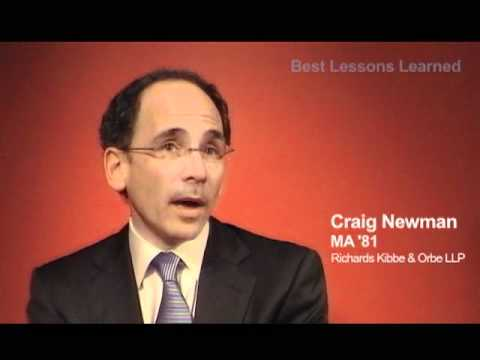 Craig Newman, MA '81: Accuracy Gives News Credibility