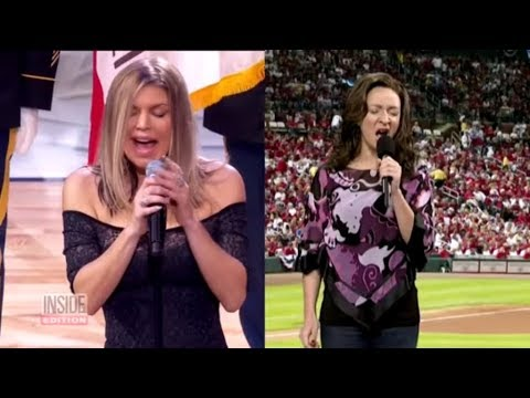 Critics Compare Fergie's 'Star Spangled Banner' Performance to SNL Skit