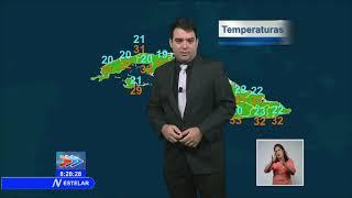El Tiempo en Cuba: tarde cálida, aisladas lluvias