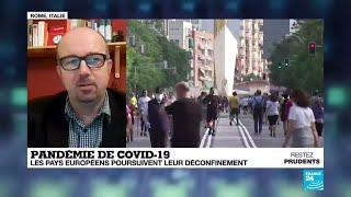 Pandémie de Covid-19 : le déconfinement se poursuit en Europe