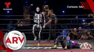 Muere La Parka, ícono de la lucha libre mexicana   Al Rojo Vivo   Telemundo