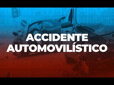 Reportan accidente de tránsito en Zona 1 capitalina
