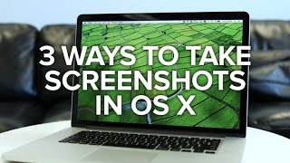 Three ways to take screenshots on your Mac