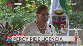 Angélica Sosa asume como alcaldesa interina de Santa Cruz de la Sierra