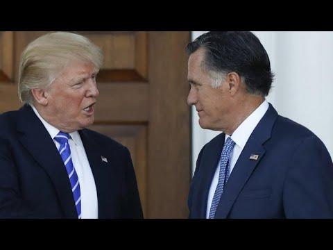 Mitt Romney publicly rebukes President Trump