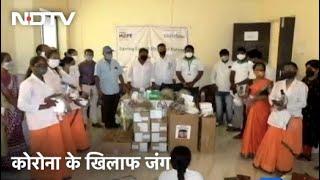 Coronavirus से जंग: स्वास्थ्य केंद्रों को Medical साजो-सामान मुहैया करवा रहा Child Fund India - NDTVINDIA