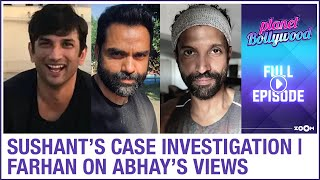 Sushant's case investigation update | Farhan reacts to Abhay's take on awards | Planet Bollywood - ZOOMDEKHO