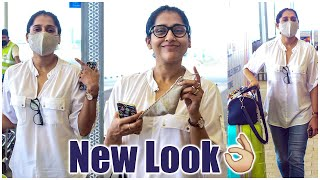Anchor Rashmi Gautam Spotted At Hyd Airport | Celebrities At Airport Videos | TFPC - TFPC