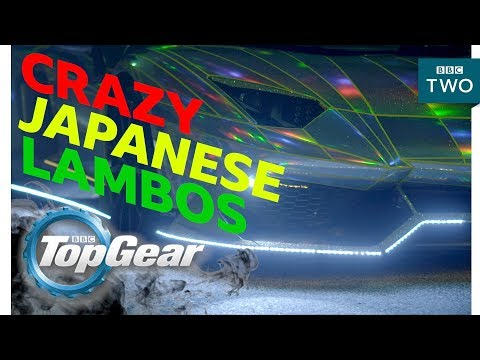 connectYoutube - Crazy Japanese Lambos - Top Gear - BBC Two