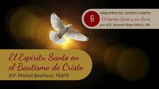 6 El Espi?ritu Santo en el Bautismo de Cristo | P. Antonio Royo Mari?n, OP