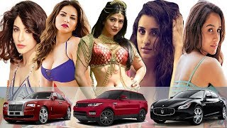 Bollywood hero heroines using luxury cars