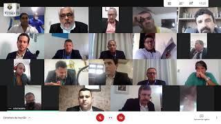 6ª Sessão Ordinária do ano em curso realizada dia 25/03/2021