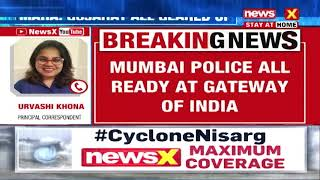MUMBAI POLICE ON ALERT AT GATEWAY OF INDIA |NewsX - NEWSXLIVE