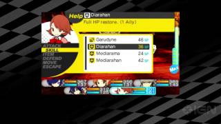 Persona Q: Shadow of the Labyrinth Summoning Personas Trailer