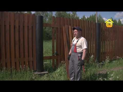 Полупрозрачный деревянный забор своими руками FORUMHOUSE