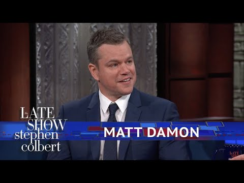 connectYoutube - Matt Damon Explains Why 'Good Will Hunting' Has So Much Cursing