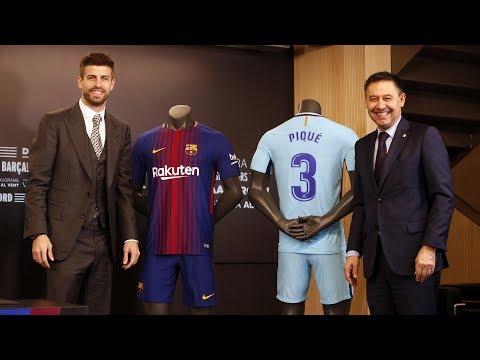 LIVE / DIRECTO Gerard Piqué signs his new contract #Pique2022