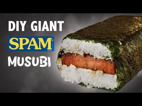 connectYoutube - DIY GIANT SPAM MUSUBI - IN HAWAII!! 🍣🍚