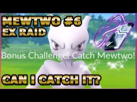 connectYoutube - MEWTWO EX RAID #6 IN POKEMON GO   WILL I CATCH MEWTWO?
