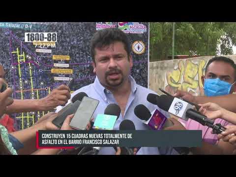 Ejecutan proyectos sociales en barrio Francisco Salazar - Nicaragua