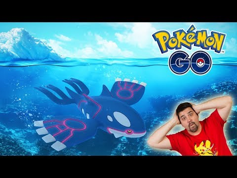 connectYoutube - ¡OFICIAL KYOGRE NUEVO POKÉMON LEGENDARIO en INCURSIONES LEGENDARIAS de Pokémon GO! [Keibron]
