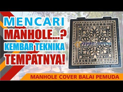 Manhole Cover Unik Kota Surabaya