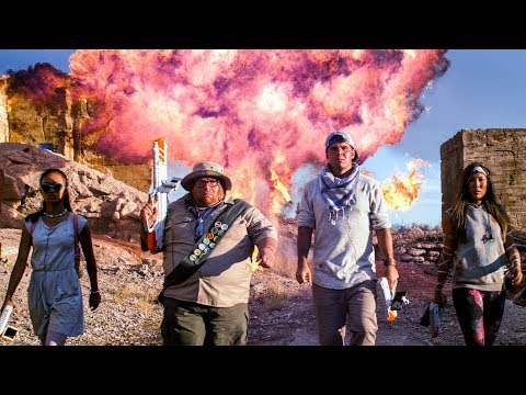 connectYoutube - Laser Tag Warfare - Bullies VS Underdogs!