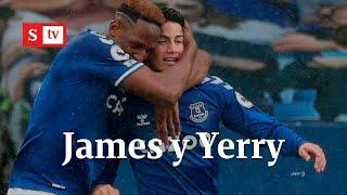 Everton y Liverpool empataron en el clásico. ¿Cómo le fue a James y Yerry Mina    Semana Noticias