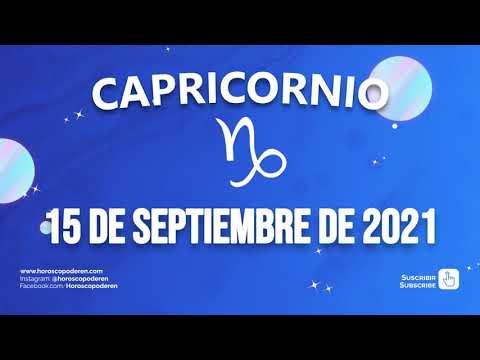 Horoscopo De Hoy Capricornio - 15 de Septiembre de 2021