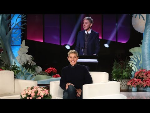 connectYoutube - First Look at Ellen's Supersized 'Blindfolded Musical Chairs'