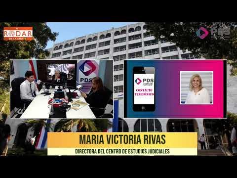 Entrevista- María Victoria Rivas- Directora del Centro de Estudios Judiciasles