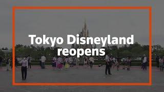 Tokyo's Disneyland resort reopens to visitors