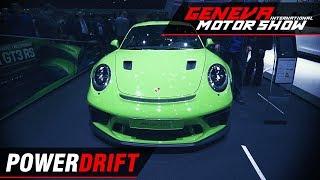 Porsche 911 GT3 RS - Pure legend ft. Aditya Patel : Geneva Motor Show 2018 : PowerDrift