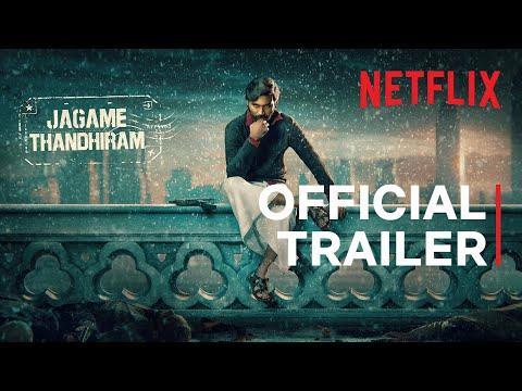 Jagame Thandhiram  Official Trailer | Dhanush, Aishwarya Lekshmi | Karthik Subbaraj | Joju George