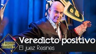 Antonio Resines lo da todo al dar un veredicto positivo - El Hormiguero 3.0