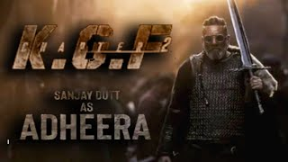 'KGF Chapter 2' new poster out on Sanjay Dutt's 62nd birthday - BOLLYWOODCOUNTRY