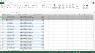 Microsoft Excel 2013 Tutorial - 8 - Tables