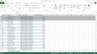 Microsoft Excel 2013 Tutorial - 8 - Tables