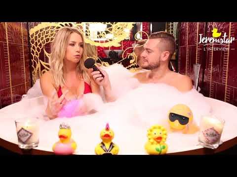 connectYoutube - Coralie (Les vacances des Anges 2) dans le bain de Jeremstar - INTERVIEW