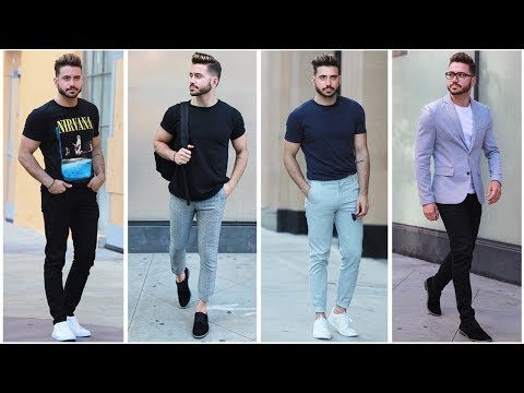 4 EASY AND AFFORDABLE SUMMER OUTFITS | Men's Summer Lookbook 2017 | Mens Fashion