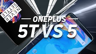 OnePlus 5T vs OnePlus 5 - Worth The Upgrade?