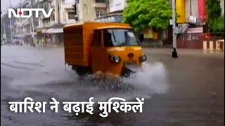 Mumbai Weather Updates: Mumbai में 48 घंटे तक भारी बारिश की चेतावनी, Red Alert जारी - NDTVINDIA