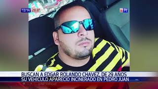 Joven se encuentra desaparecido en Pedro Juan Caballero