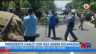 Alvarado califica de lamentable y terrible las detenciones de opositores al gobierno de Nicaragua