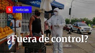 La pandemia del coronavirus en Atlántico: ¿fuera de control | Semana Noticias