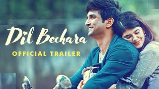 Dil Bechara (Full Official Trailer) | Sushant Singh Rajput & Sanjana Sanghi |Disney+ Hotstar - AAJKIKHABAR1