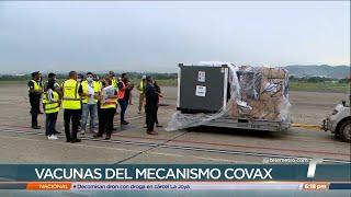 Llega a Panamá segundo lote de la vacuna de AstraZeneca