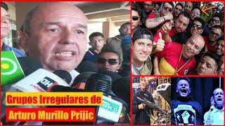 Arturo Murillo organizador del Grupo irregular de Motoqueros Resistencia Juvenil Cochala - Bolivia