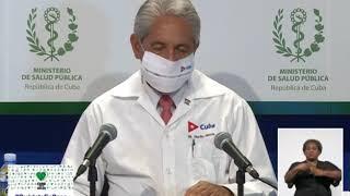 Conferencia de Prensa: Cuba frente a la COVID-19 (18 de septiembre de 2020)