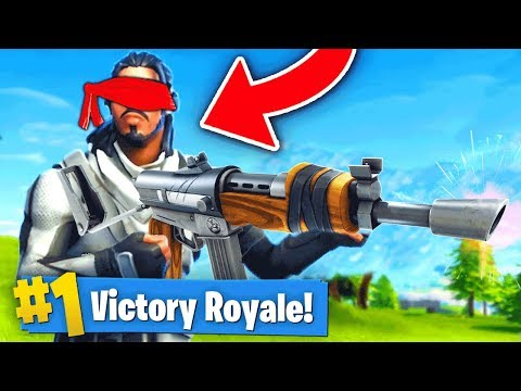 connectYoutube - THE BLIND SHOOTING CHALLENGE (Fortnite Battle Royale)